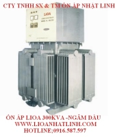 3 Phase Voltage Stabilizer Oil Lioa 300kva